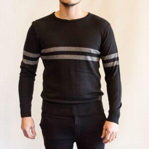 Sweater stripe black
