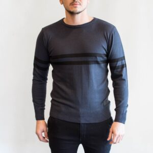 Sweater stripe Grey