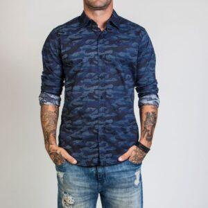 Camisa camuflada Blue