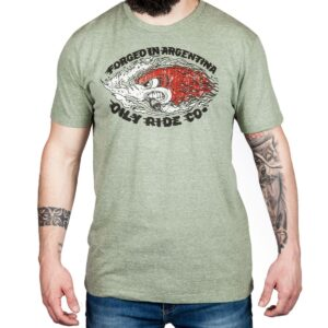 Remera Forged Green